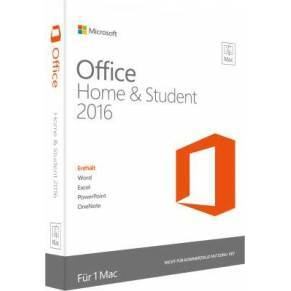 Software MS OFFICE 2016 HOME STUDENT MAC