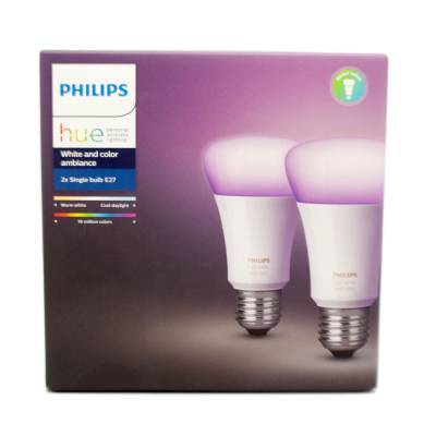 philips hue e27 2er white and color kaufen pc mediastore aschaffenburg. Black Bedroom Furniture Sets. Home Design Ideas