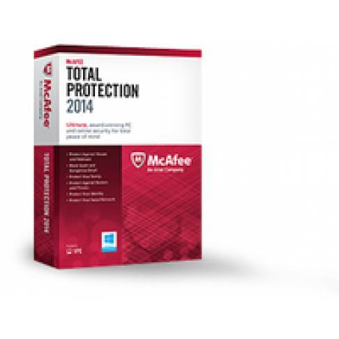 Software McAfee Total Protection 2014 1 User