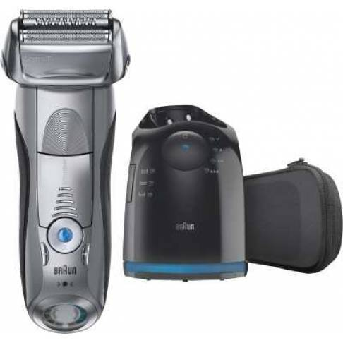 Braun Personal Care 7790cc System Pulsonic Silber