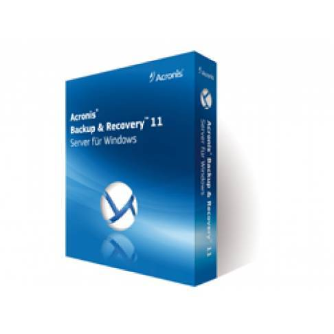 Software Acronis BACKUP und RECOVERY 11