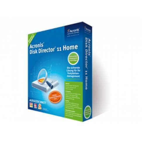 Software Acronis Disk Director Home 11.0