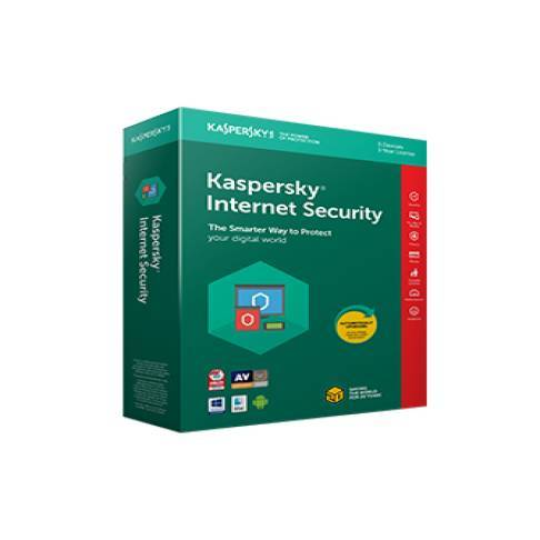Software Kaspersky Internet Sec. Upg 2018 1er