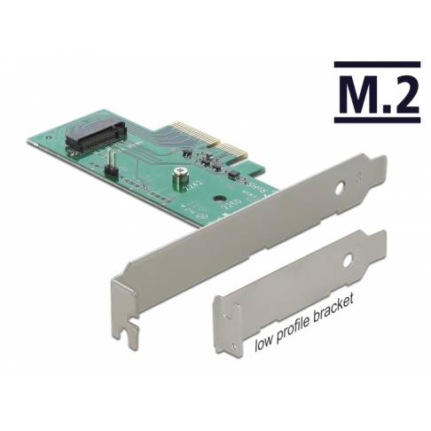 Controller Delock PCIe3.0 M.2 x4 SSD Adapter M2