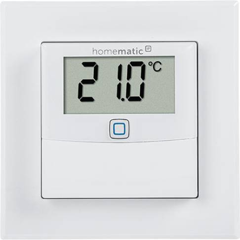 HomeMatic IP Temp/LF Sensor +Display