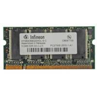 Notebookspeicher 512MB SODIMM PC333 Infineon DDR