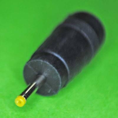 DC Stecker Adapter 5.5x2.1mm auf 2.5x1.3mm gelb
