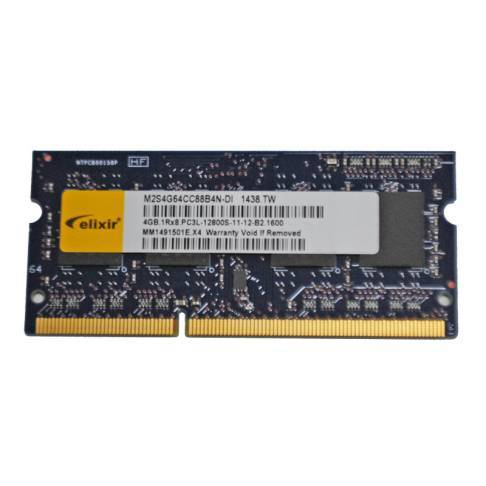 Notebookspeicher 4096MB elixir DDR3 1600 1.35V LV