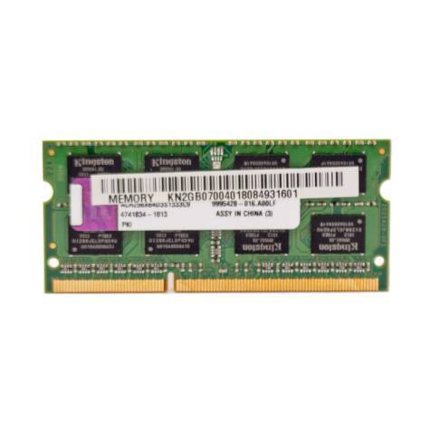Notebookspeicher 2048MB SODIMM PC1333 DDR3 Kingston
