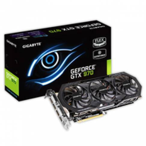 PCI-Express Grafikkarte Gigabyte GTX 970 OC 4GB Windforce