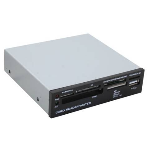 "Cardreader 3.5"" Wintech +USB2 Front"