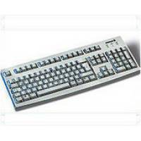Tastatur Cherry G83-6105 Keyboard PS2 black