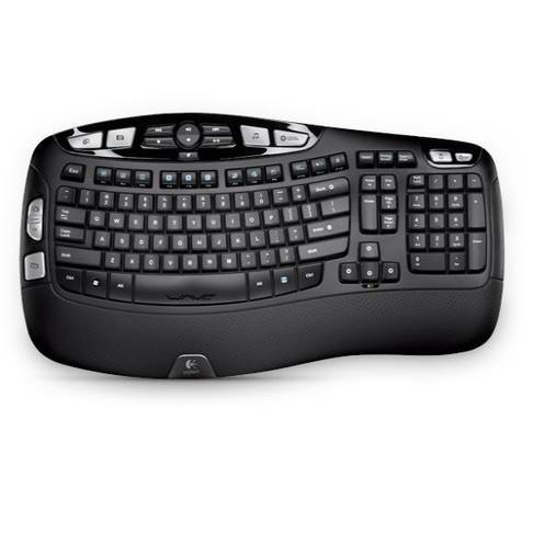 Tastatur Logitech K350 Wireless Ergonomic