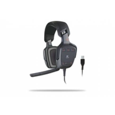 Headset Logitech G35 Surround Gamer Headset
