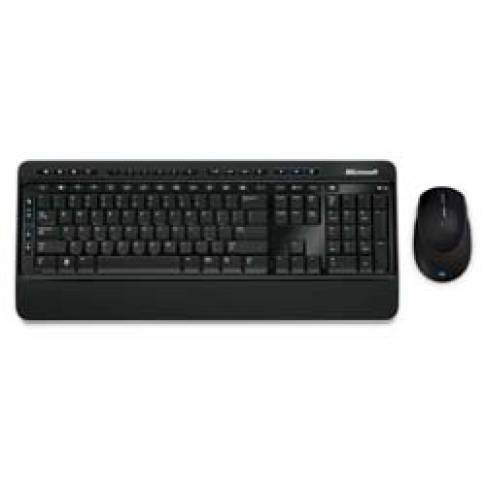 Tastatur Microsoft Wireless Desktop 3000 Schw