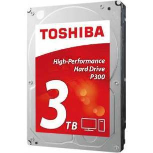 SATA Festplatte 3000 GB Toshiba P300 highPERFORM 3TB