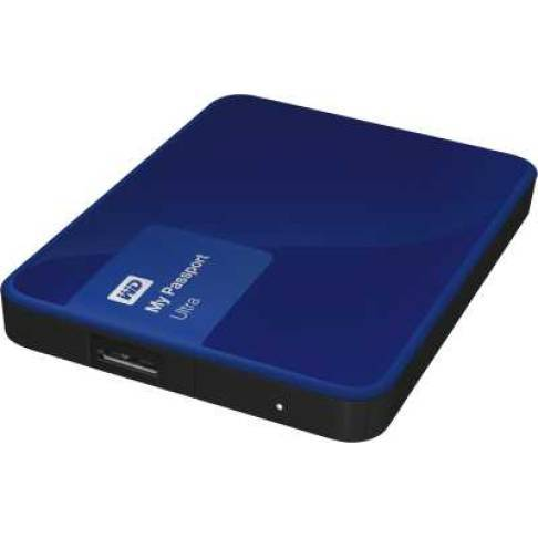 USB-Festplatte 1000 WD My Passport Ultra 1TB Blue