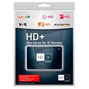 HD+ Karte 12 Monate Smart Card Astra
