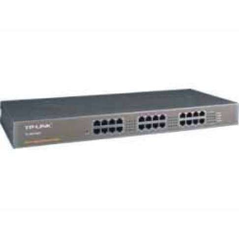 "Switch 24port TP-LINK 19"" 100/1000"