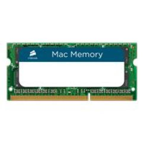 Notebookspeicher 8192MB Corsair DDR3 1600 1x8G LV MAC