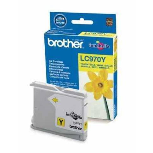 Tinte Brother LC970Y INK CARTRIDGE YELLOW