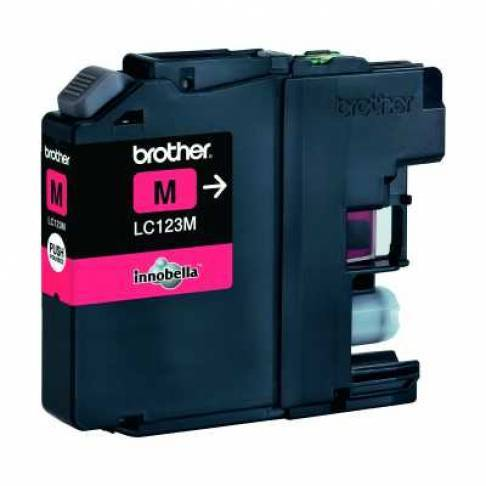 Tinte Brother LC-123M Magenta