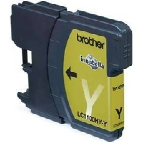 Tinte Brother LC-1100HYY Yellow
