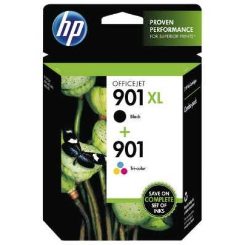 Tinte HP No. 901XL black + 901 Color