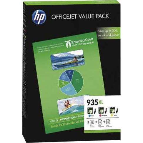 Tinte HP INK CARTRIDGE NO 935XL CMY