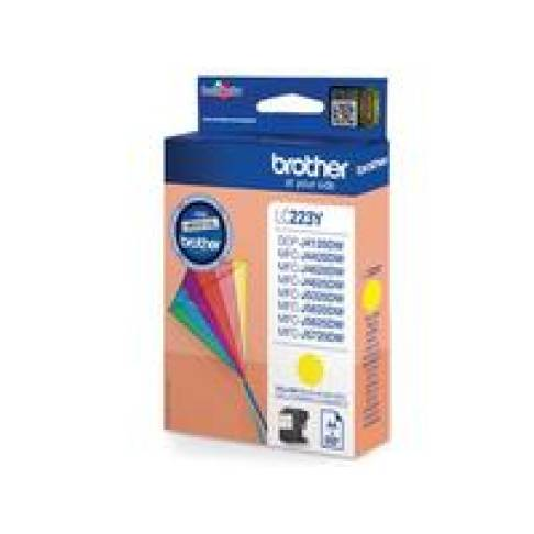 Tinte Brother LC-223Y Yellow 550 Seiten
