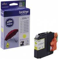 Tinte Brother LC-225Y Yellow 1200 Seiten
