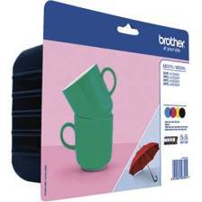 Tinte Brother LC-227BK/LC225CMY Value