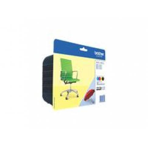 Tinte Brother LC-229XLBK/LC225CMY Value