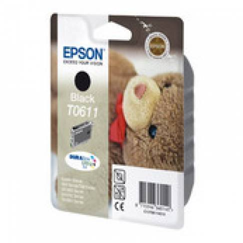 "Tinte Epson T0611 BK DX3850 8ml ""Teddy\"""