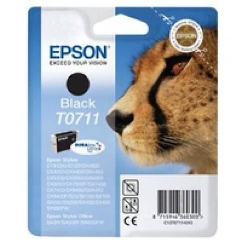 "Tinte Epson T0711 Black 7,4ml ""Gepard\"""