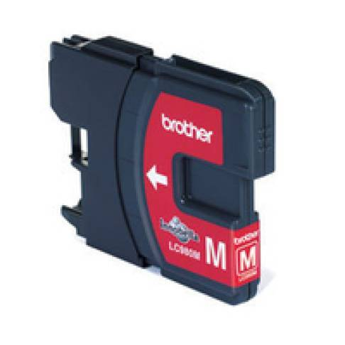 Tinte Brother LC980M Magenta DCP-145