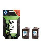 Tinte HP No. 338 Black 2er DJ5740 11ml