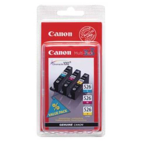 Tinte Canon CLI-526 CMY IP4850 Multipack