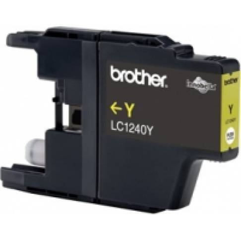 Tinte Brother LC1240Y Yellow