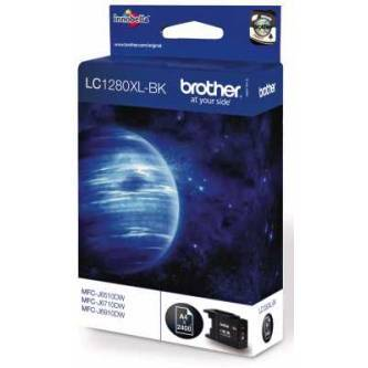 Tinte Brother LC-1280XLBK black 2400 Seiten