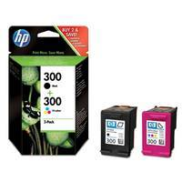 Tinte HP No. 300 color/schwarz