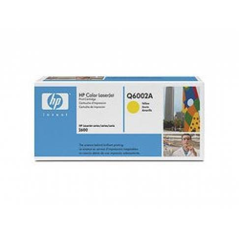Toner HP Q6002A Yellow HP1600/2600 2K 124A