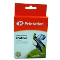 kompatible Tinte Brother LC1240BK Black Printation