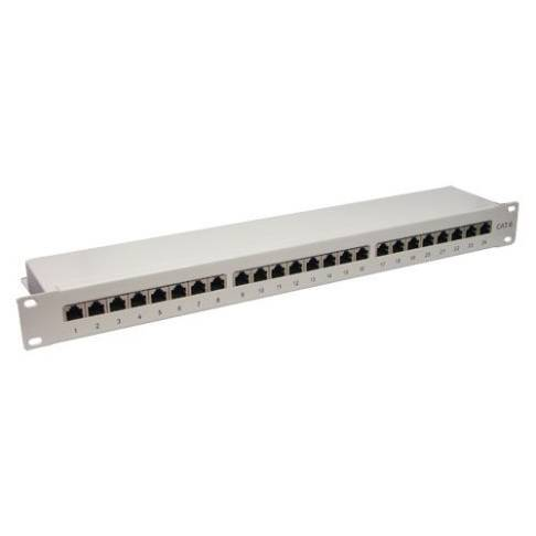 "CAT6 Patchpanel 24-fach 19""Patchfeld"