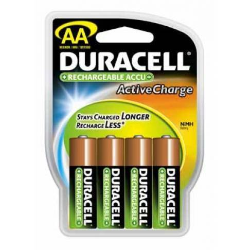 Batterie Duracell HR6 Active Charge 4er