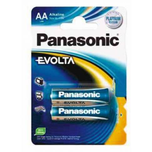 Batterie Panasonic LR6EGE/2BP Evolta 2er Blister