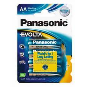 Batterie Panasonic LR6EGE/4BP Evolta 4er Blister