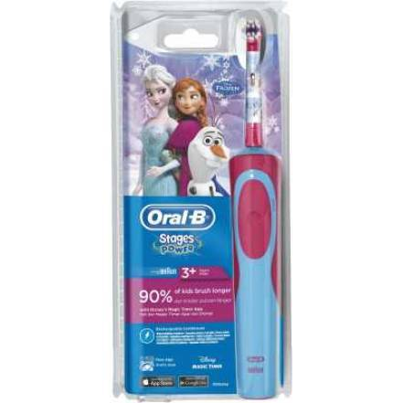 Oral-B Stages Power Frozen cls Pink-Blau