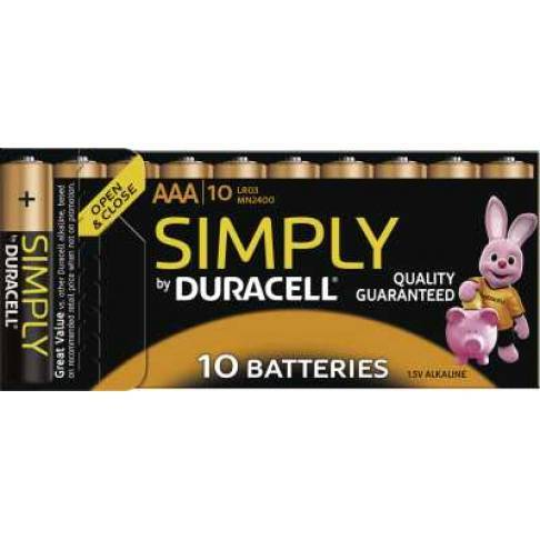 Batterie Duracell MN 2400 Simply Micro 10 St