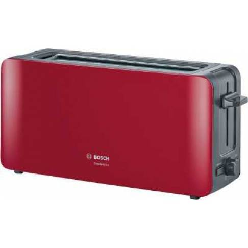 TOASTER Bosch TAT6A004 Rot-Anthrazit